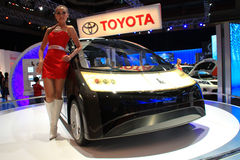 2010国际吉隆坡汽车展示会 免版税图库摄影