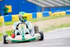 2010场比赛karting的国民 免版税图库摄影