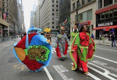 2010天游行波多黎各人 免版税图库摄影