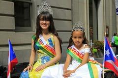 2010天游行波多黎各人 免版税库存图片