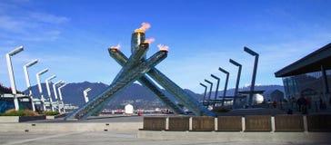 2010奥林匹克温哥华冬天 免版税库存照片