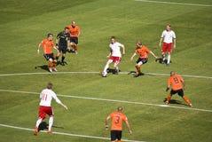 2010年丹麦fifa荷兰v wc 免版税库存图片