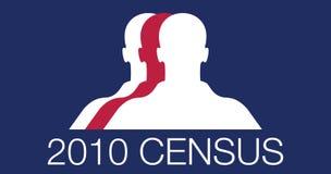 2010年人口调查 免版税库存图片