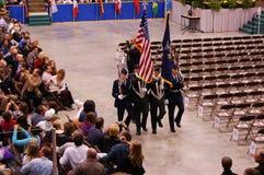 2010年仪式clarkson毕业大学 免版税库存照片