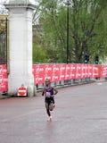 2010年伦敦马拉松赢利地区 免版税库存图片