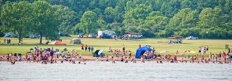 2010年凯撒小河俄亥俄公园状态 库存照片