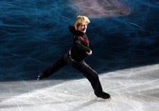 2010年圣诞节节目冰意大利米兰 免版税库存照片