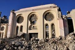 2010年地震海地 图库摄影