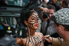 2010年城市万圣节新的游行约克 免版税库存照片