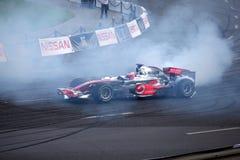 2010年巴伐利亚按钮城市jenson莫斯科赛跑 库存图片
