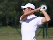 2010年开放本杰明法国高尔夫球的hebert 免版税库存图片