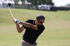 2010年开放delamontagne法国的高尔夫球 免版税库存照片