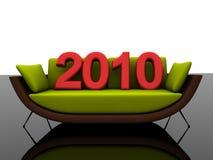 2010年沙发 免版税库存图片