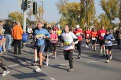 2010年法兰克福马拉松 免版税库存照片
