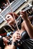 2010年海角杯子凹道fifa最终长的街道世界 图库摄影