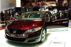 2010年清晰fcx日内瓦本田汽车展示会 免版税库存照片