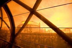 2010年澳洲商展亭子上海 库存图片