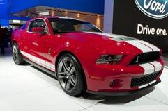 2010年眼镜蛇shelby Ford Mustang的naias 图库摄影