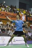 2010年羽毛球冠军wuc 免版税库存图片
