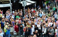 2010年都伯林节日lgbtq自豪感 库存照片