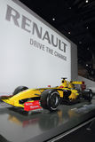 2010年配方日内瓦马达一renault显示 库存图片