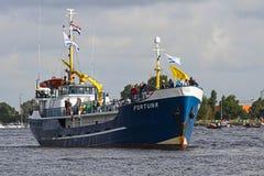 2010年阿姆斯特丹游行风帆 图库摄影