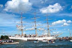 2010年阿姆斯特丹风帆 免版税库存照片