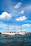 2010年阿姆斯特丹风帆 库存图片