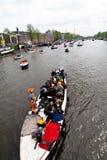 2010年阿姆斯特丹koninginnedag 免版税库存图片