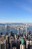 2010年香港高峰图 免版税库存图片