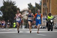 2010年马拉松vivicitta 图库摄影