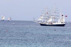 2010年高赛船会的船 免版税图库摄影