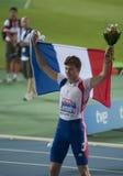 2010年atletismo巴塞罗那europeos 免版税库存照片