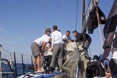 2010年barcolana赛船会 免版税库存照片