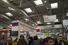 2010年cebit俄国 免版税库存照片