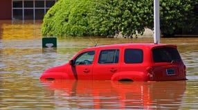 2010年clarksville洪水tn 免版税库存照片