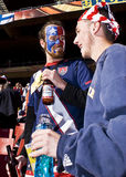 2010年fifa足球支持者美国wc 图库摄影