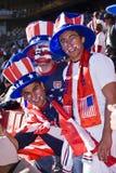 2010年fifa足球支持者美国wc 库存图片