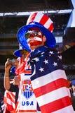 2010年fifa足球支持者美国wc 库存照片