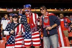2010年fifa足球支持者美国wc 免版税库存图片