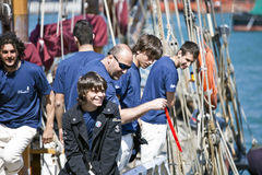 2010年garibaldi赛船会发运高 免版税图库摄影