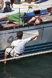 2010年garibaldi赛船会发运高 免版税库存图片