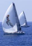 2010年millevele赛船会风帆 免版税图库摄影