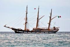2010年palinuro赛船会船发运高 免版税库存照片