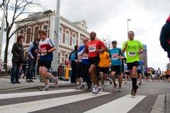 2010每年fortis马拉松鹿特丹 免版税库存照片