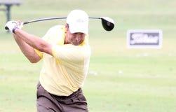 2010法语打高尔夫球olazabal开张 免版税库存照片