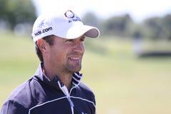 2010法语高尔夫球开放史蒂夫・韦伯斯&#2930 免版税图库摄影