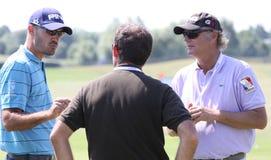 2010法语高尔夫球开放格雷戈里的havret 库存图片