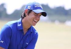 2010法语高尔夫球开放manassero的matteo 免版税库存照片