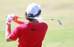 2010法语高尔夫球ilroy橡皮防水布开放rory 免版税库存图片